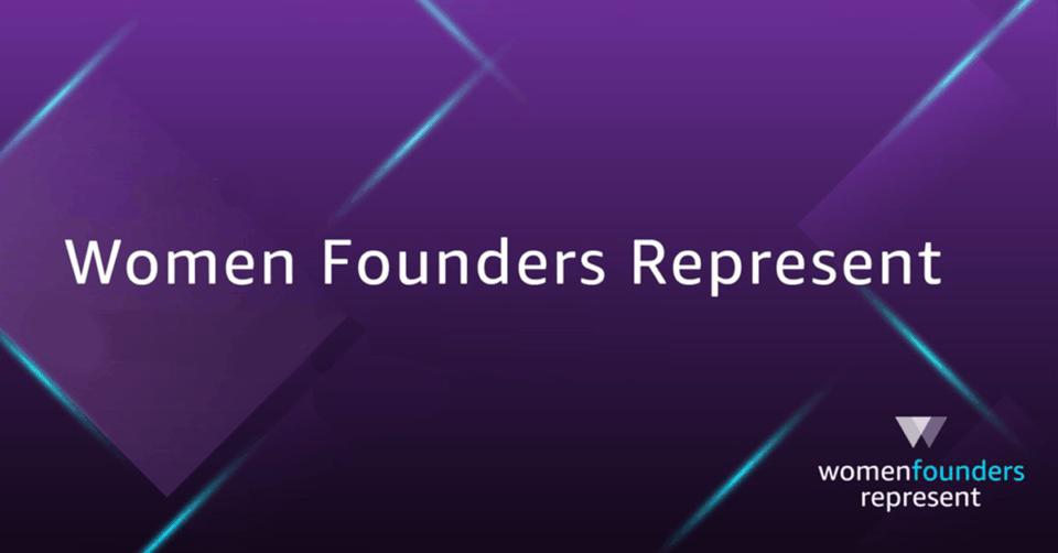 women founders represent